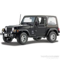 Maisto Wrangler Sahara Jeep Diecast Model Araba 1:18 Special Edition Siyah