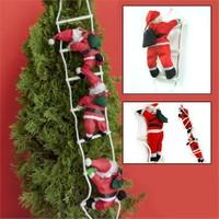 Bluezen 3'Lü Merdivene Tırmanan Noel Baba