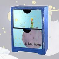 Bluezen Little Prince Küçük Prens Mini Şifonyer Çekmece