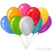 Trio Balon Floresan 25 Adet