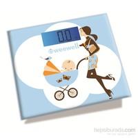 Weewell WWD720 Dijital Anne & Bebek Tartısı