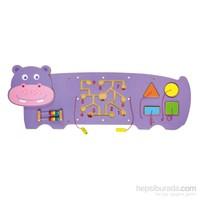 Vıga Toys Duvar Oyunu - Su Aygırı