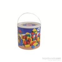 Heros Renkli Ahşap Bloklar 100 Parça