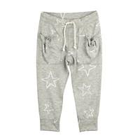 Karamela Yıldızlı Pantolon, Gri