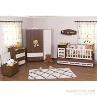Babyhope Lüks Büyüyen Bebek Odası Takımı-930 Yatak Hediyeli Ceviz