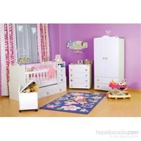 Babyhope 930 Büyüyen Beşikli Bebek Odası Takımı (Full Avantaj Paketi )