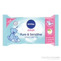 NIVEA Baby Pure & Sensitive Islak Temizleme Mendili / 40 Yaprak