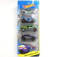 Hot Wheels Beşli Araba Seti Thrill Racers
