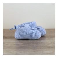 Mammade Süslemeli Örgü Patik 0-3 Ay