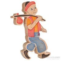 Neva Toys Puzzle Serisi - Keloğlan