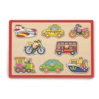 Vıga Toys Taşıtlar Puzzle