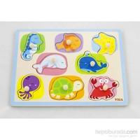 Vıga Toys Deniz Hayvanları Puzzle