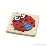 Vıga Toys 2D Uğur Böceği Puzzle