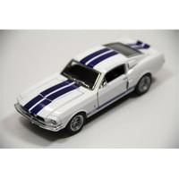 Kinsmart 1967 Shelby Gt500 (Beyaz) 1:38 Çek Bırak Model Araba