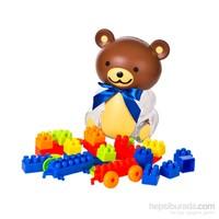 Cc Toys Yapboz Blok Setli Ayı Figürlü Kumbara