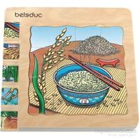 Beleduc Katlı Puzzle-Pirinç 15X15 Cm