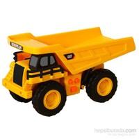 Cat Mini Sesli Ve Işıklı Dump Truck İş Makinası