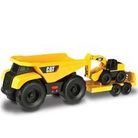 Cat Mini İş Makinaları Sesli Ve Işıklı 2 Li Set Model 1