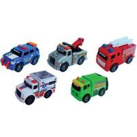 Rr Mini Şehir Araçları 5 Li Set 9 Cm Acil Yardım