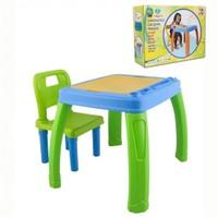 Pilsan Sandalyeli Çalışma Masası 03-402 Yeşil