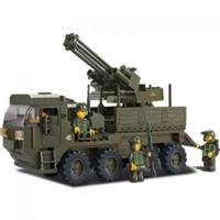 Sluban Yapboz Blok 311 Parça Heavy Askeri Taşıyıcı Aracı