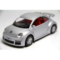 Kinsmart Gri Volkswagen New Beetle Rsı (1:32 Metal Çek Bırak Araba)