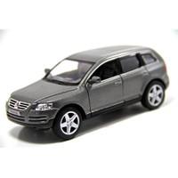 Kinsmart 2003 Volkswagen Touareg (Füme) 1:38 Diecast Çek Bırak Model Araba