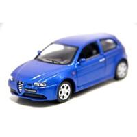 Kinsmart 1:32 Alfa 147 Gta (Mavi) Çek Bırak Metal Araba