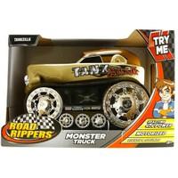 Rippers Monster Truck Tankzill Sesli Ve Işıklı 4X4 Kamyonet