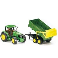 Bruder John Deere 6920 Römorklu Traktör İş Makinası