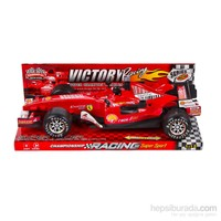 Sesli Formula Yarış Arabası Kırmızı