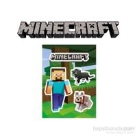 Minecraft Sticker Steve Pets Yapıştırma Seti