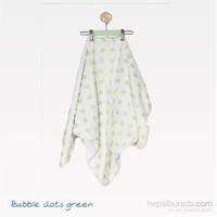 Mycey Puanlı Battaniye / Yeşil