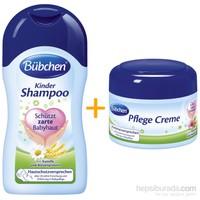 Bübchen Bebek Bakım Seti (Bebek Şampuanı 400 ml ve Kozmetik Kremi 75 ml)