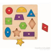Hape Geometrik Şekiller Puzzle