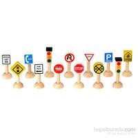 Plantoys Trafik İşaretleri Ve Işıklar Seti 2(Set Of Traffic Signs & Lights 2)