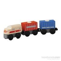 Plantoys Kargo Treni (Cargo Train)