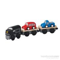 Plantoys Araba Taşıma Treni (Car Carrier Train)