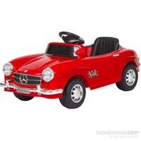 Baby2go 9377 Uzaktan Kumandalı 6V Akülü Araba / Kırmızı