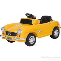 Baby2go 9377 Uzaktan Kumandalı 6V Akülü Araba / Sarı