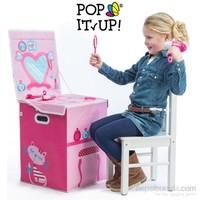 Pop It Up Güzellik Masası Oyuncak Saklama Kutusu