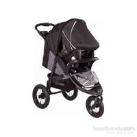 Babyhope Bh-606A Galaxy Jogger Travel Puset / Siyah