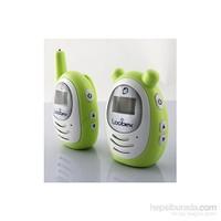 Loobex Titreşimli Dijital Bebek Dinleme Telsizi (Yeşil) (300mt-LCD Ekran-Çift Yönlü)