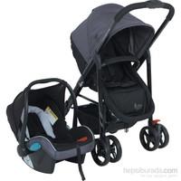 Babyhope Bh-3080 Innova Travel Puset (Siyah)