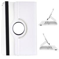 Gpack Samsung Galaxy Tab E T560 Kılıf Standlı Kapaklı - Beyaz