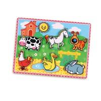 Vıga Toys 2D Çiftlik Hayvanlar Puzzle