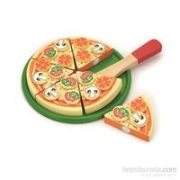 Vıga Toys Ahşap Pizza