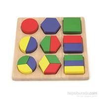 Vıga Toys Parça Bütün - Geometrik