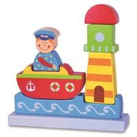 Vıga Toys 3D Puzzle Blok - Deniz