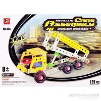 Buffer 129 Parça Metal Lego Kamyon